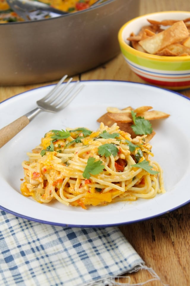 Chicken Spaghetti from The Homesick Texan's Family Table | Miss in the Kitchen.jpg