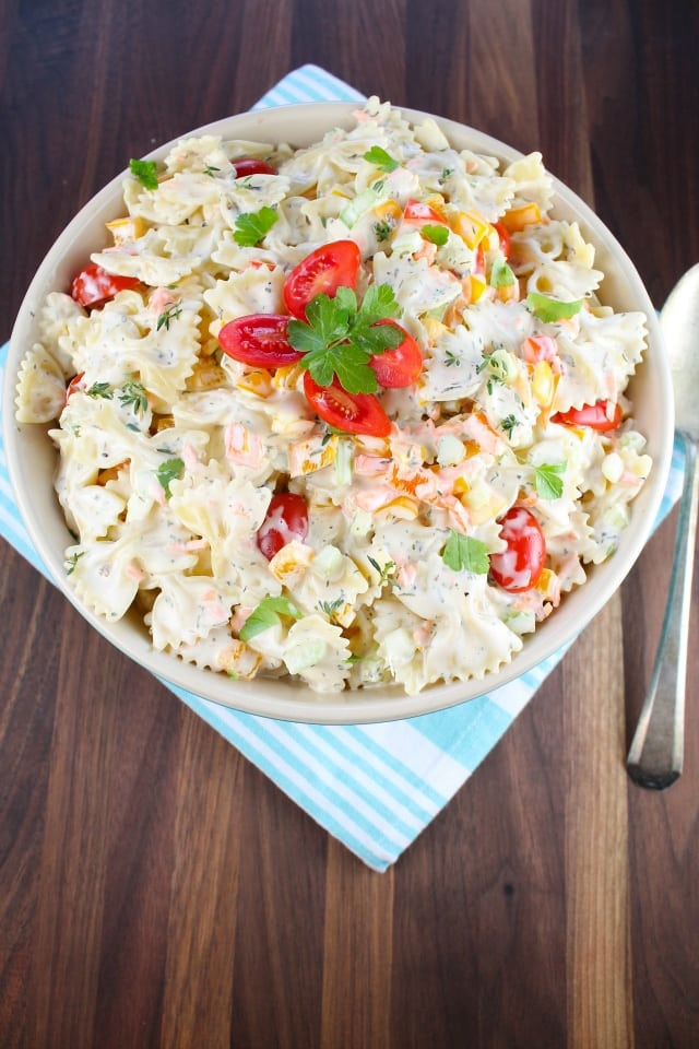 Easy Pasta Salad Miss in the Kitchen