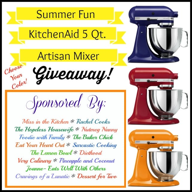 Summer Fun KitchenAid Giveaway