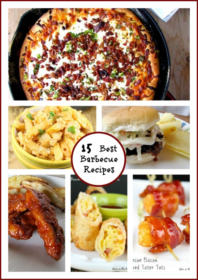 15 Best Barbecue Recipes from missinthekitchen.com