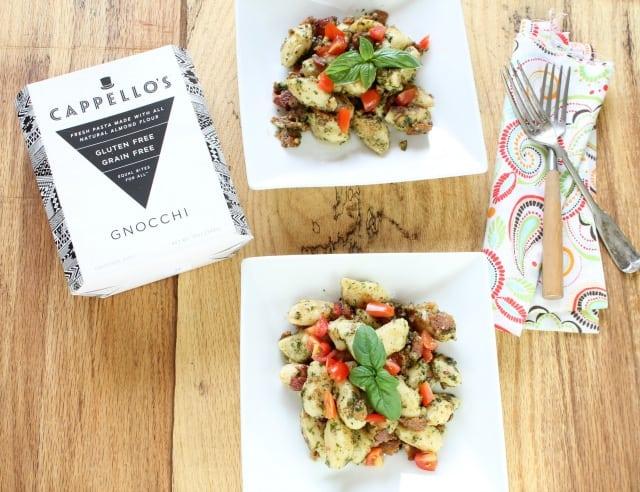 Cappello's Gnocchi with Bacon Tomato & Pesto  Miss in the Kitchen