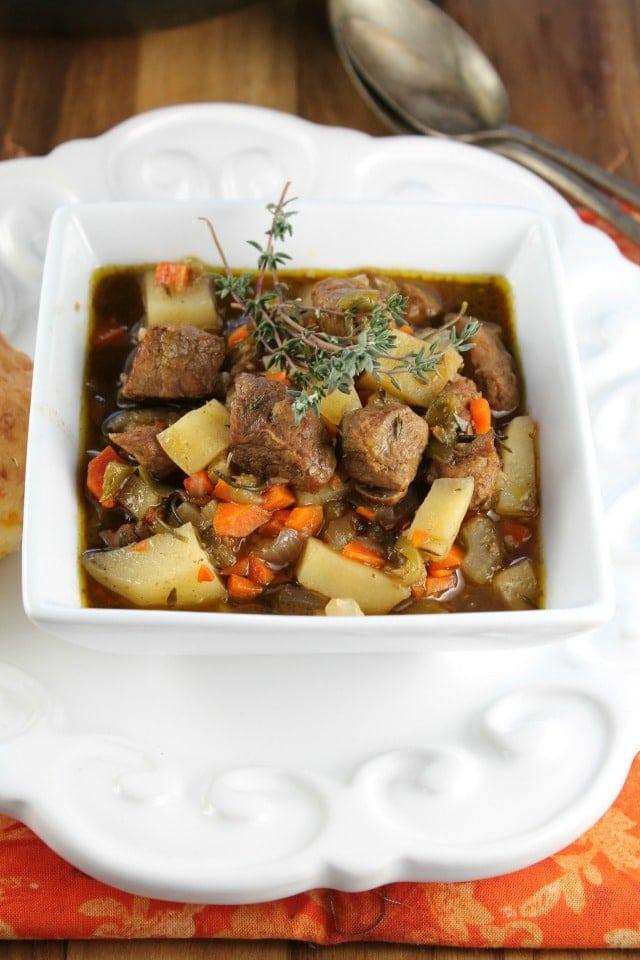 Balsamic Beef Stew From missinthekitchen.com