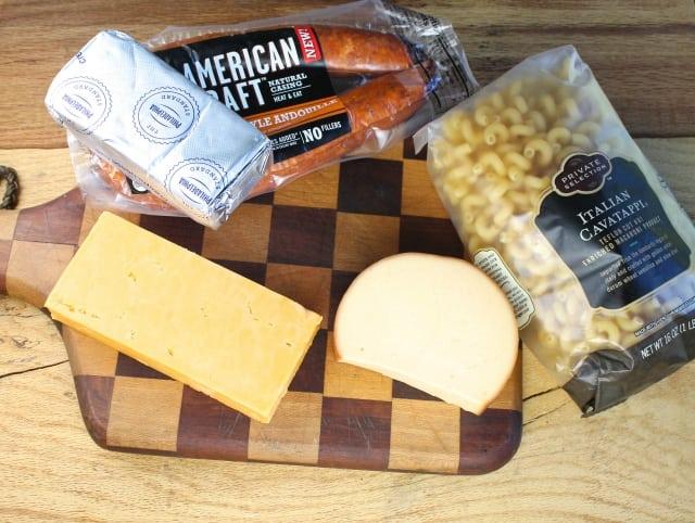Smoky Mac & Cheese Ingredients