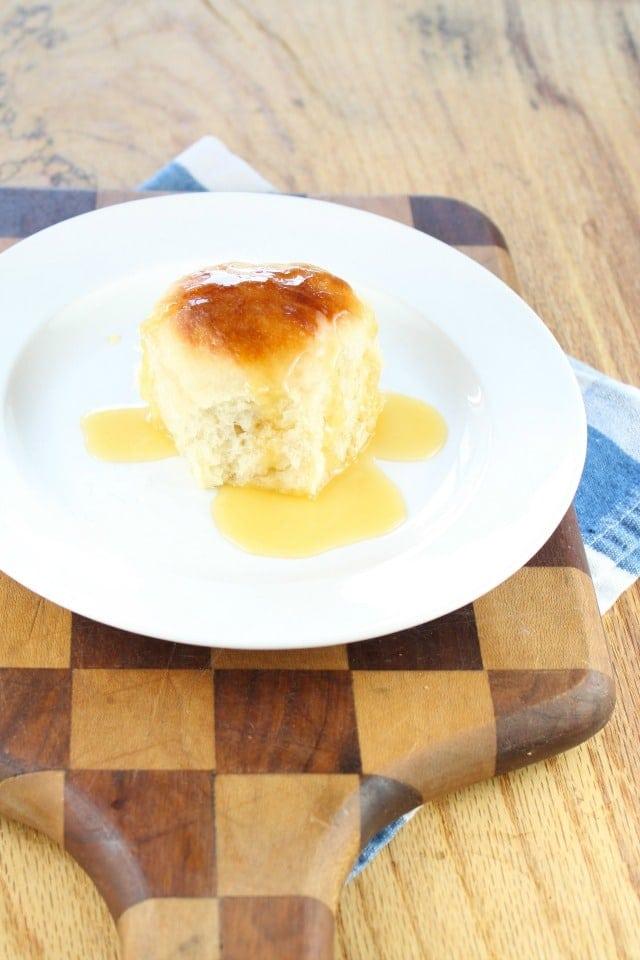 Butter Buns from Make Ahead Bread  missinthekitchen.com