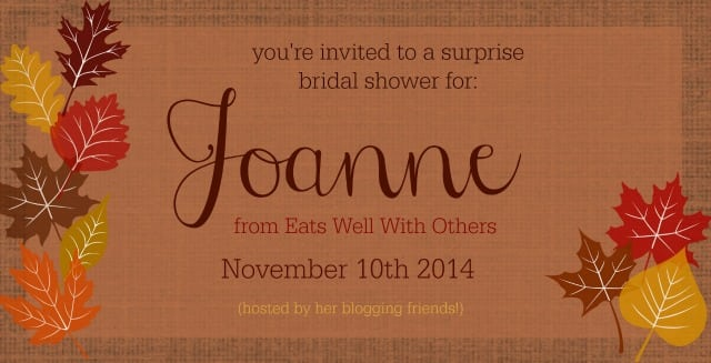 Joanne's Shower Graphic