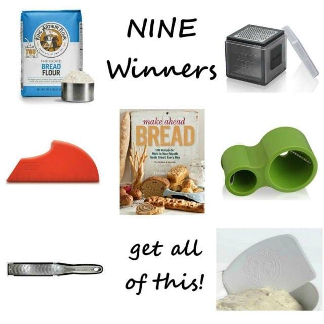 Make Ahead Bread  9 Winners