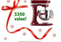 Christmas KitchenAid Mixer Giveaway