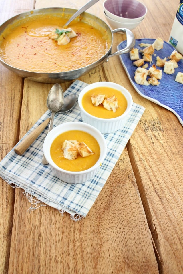 Butternut Squash Soup from Miss in the Kitchen