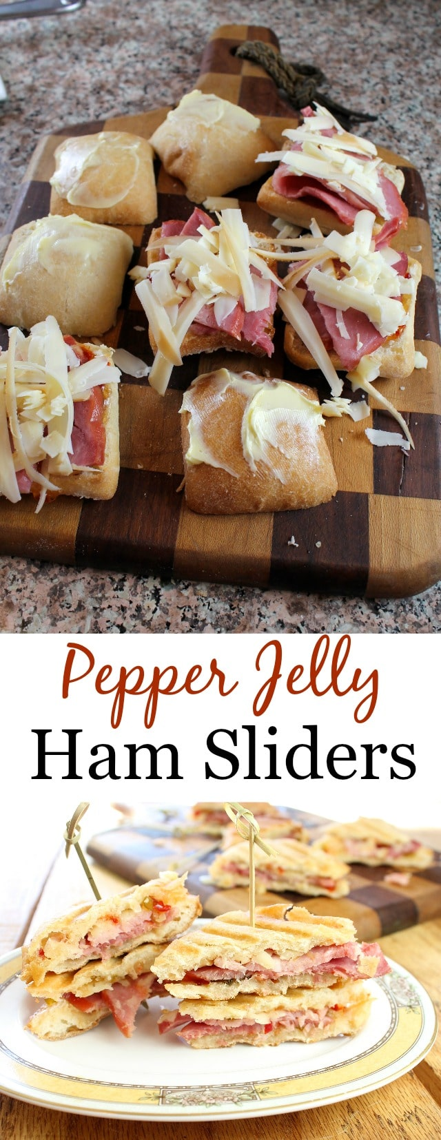 Pepper Jelly Ham Sliders get the recipe at missinthekitchen.com