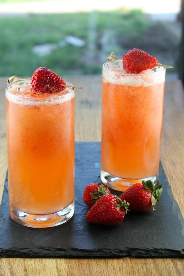 Strawberry Mango Coolers Recipe