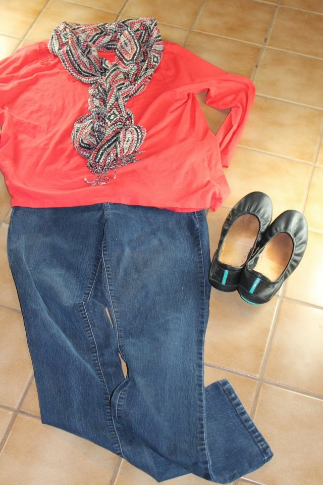 tieks with jeans - miss in the kitchen