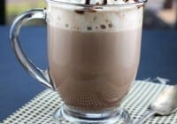 Rich and Creamy Hot Chocolate from Miss in the Kitchen