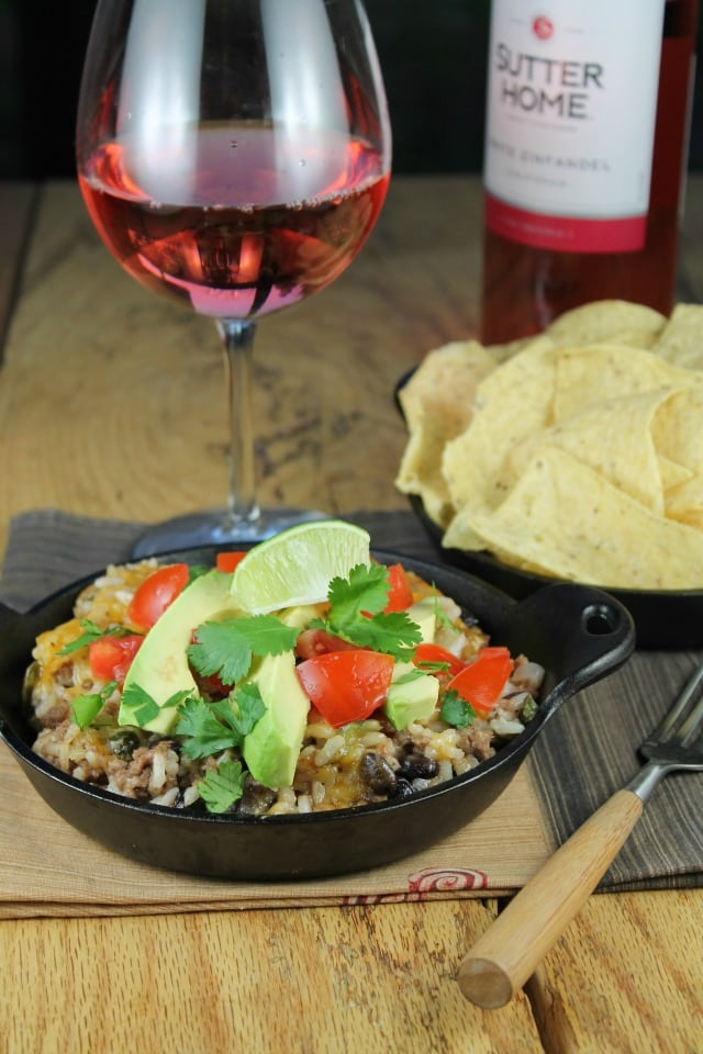 Tex-Mex Cheesy Rice Casserole is a simple and delicious dinner idea ...