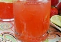 Easy Strawberry Limeade Punch