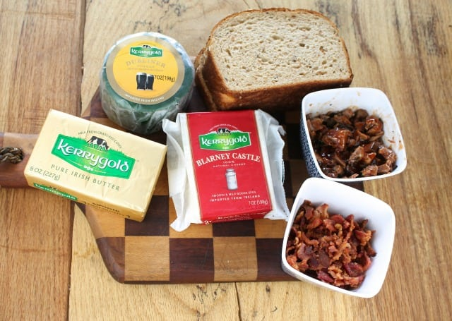 Kerrygold Barbecue & Bacon Grilled Cheese from MissintheKitchen