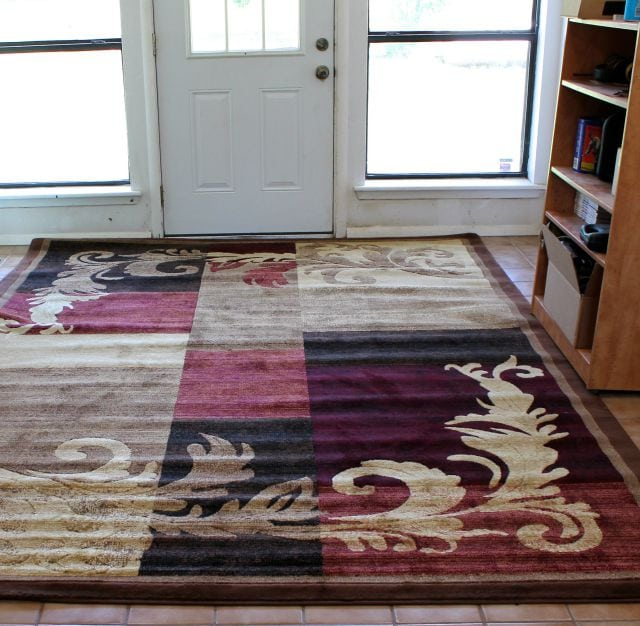 Home Dynamix Catalina Area Rug from Wayfair ~ A Welcoming Entry Way from Miss in the Kitchen