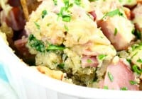 Cheesy Ham and Veggie Quinoa Bake from missinthekitchen