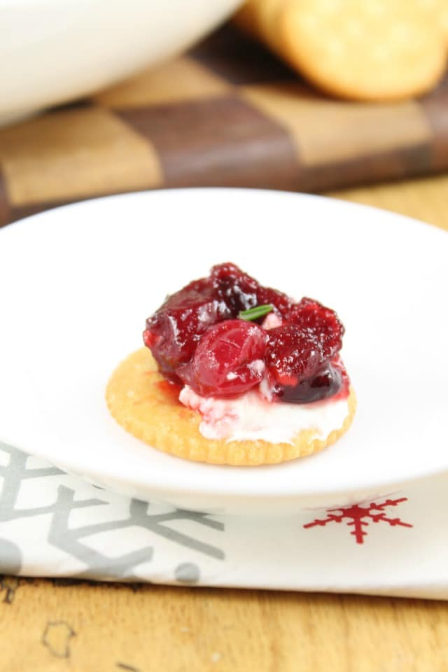 Cranberry Dip Recipe from Miss in the Kitchen