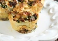Zesty Sausage and Spinach Ranch Rolls