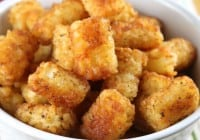 Oven Fried Tater Tots