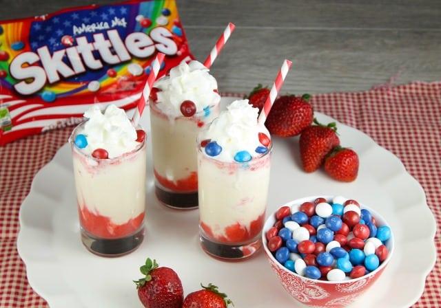 Berry Swirl Skittles Milkshake Recipe: MissintheKitchen