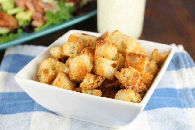 How to Cook Bacon ~ Bacon Croutons