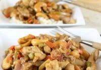Kung Pao Chicken Recipe ~ Favorite Family Dinner ~ MissintheKitchen #TeamFarberware #MyFamilyCooks #Sponsored