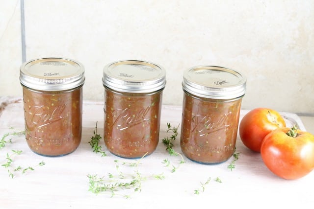 Roasted Tomato and Onion Sauce Recipe with summer fresh tomatoes