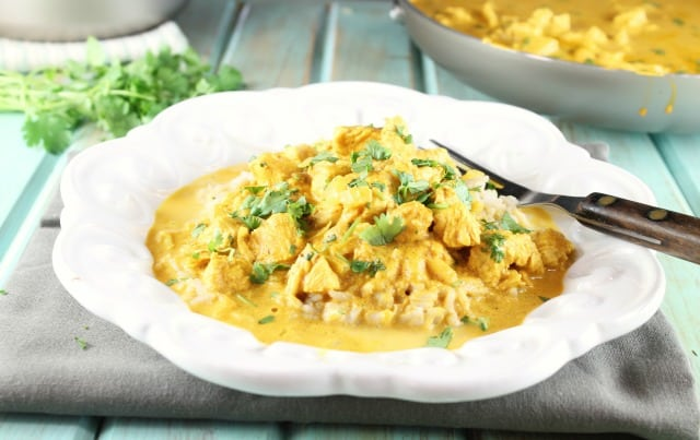 Butter Chicken Recipe for Farberware Cookware by MissintheKitchen.com