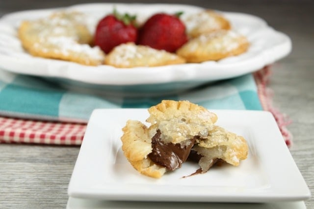 Fried Nutella Hand Pies Recipe ~ MissintheKitchen