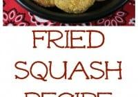 Fried Squash
