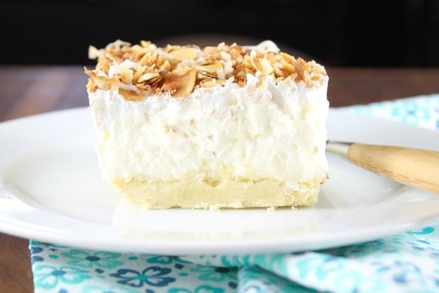Coconut Cream Pie from MissintheKitchen