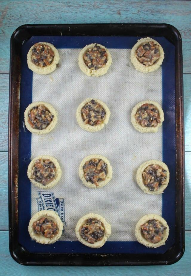Filled Pecan Pie Cookies Recipe ~ MissintheKitchen.com