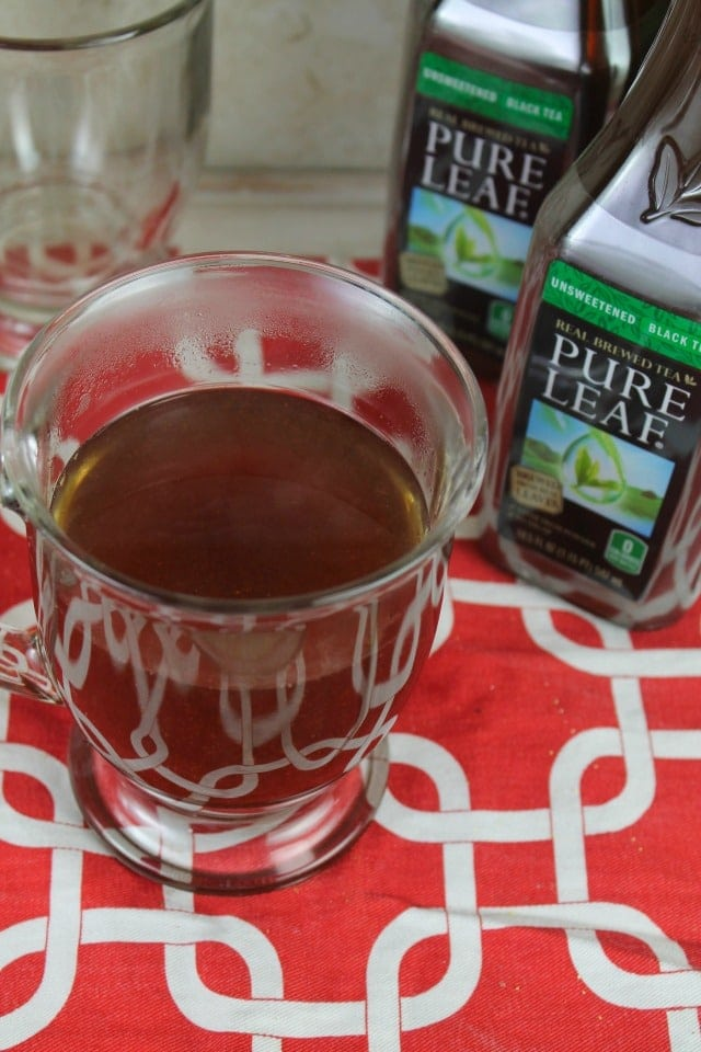 Pure Leaf Tea for No Fuss Holiday Cocktail Party | MissintheKitchen.com #ad