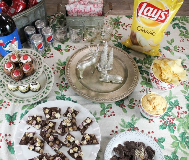 Frito Lay White Elephant Exchange Party from MissintheKitchen.com #ad