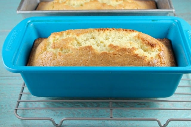Orange Glazed Almond Bread with Silk ~ MissintheKitchen.com