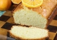 Orange Glazed Almond Bread