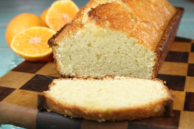 Orange Glazed Almond Bread Recipe - MissintheKitchen