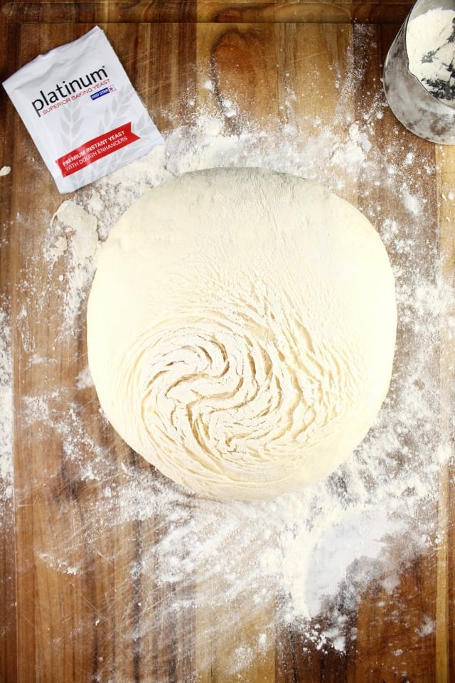 Quick Rosemary Garlic Knots Dough ~ MissintheKitchen.com