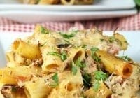 Cheesy Beef Rigatoni Recipe | Miss in the Kitchen | easy dinner |