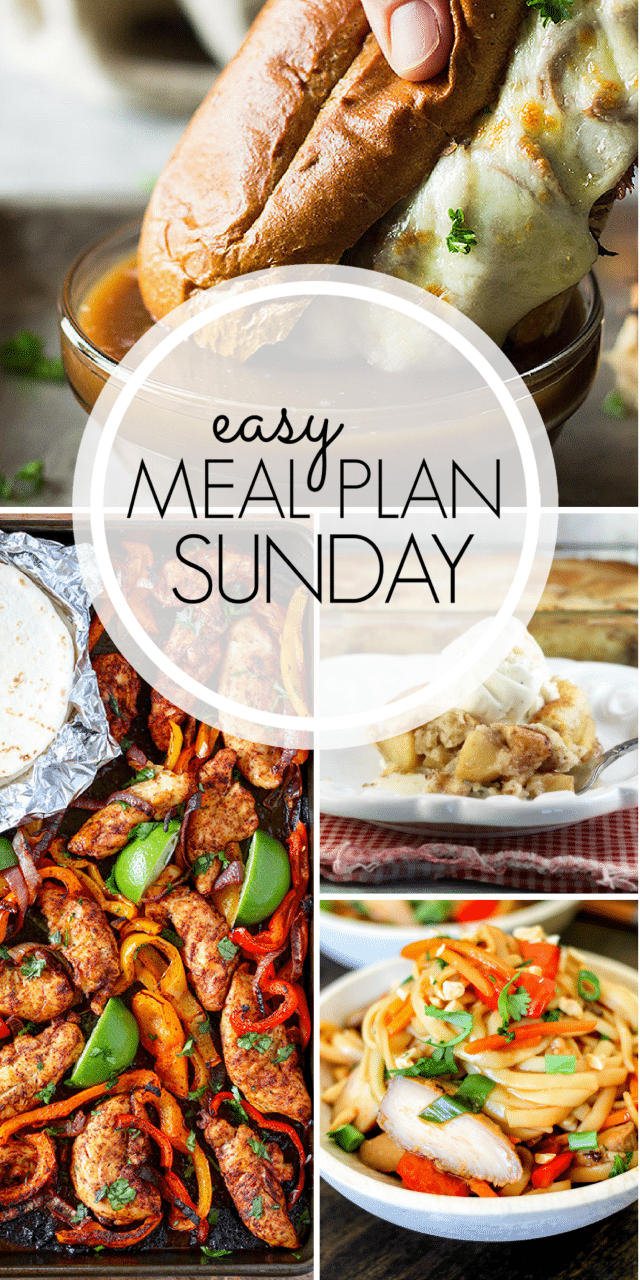 Easy Meal Plan week 95 from MissintheKitchen.com #Recipes