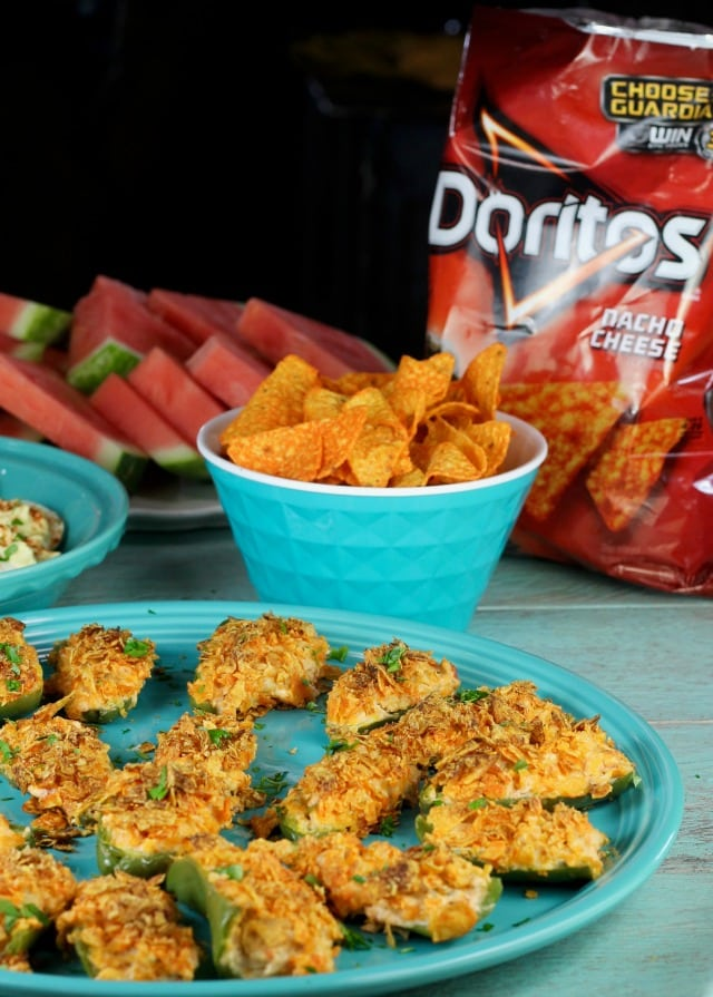Doritos Chicken Jalapeno Poppers Easy Summer Appetizer
