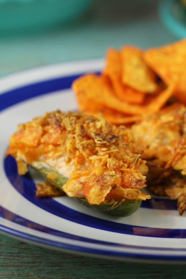 Doritos Chicken Jalapeno Popper Recipe ~ MissintheKitchen.com #ad #SayYesToSummer