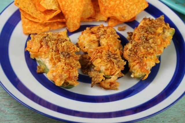 Doritos Chicken Jalapeno Poppers ~ Appetizer~ Missinthekitchen.com