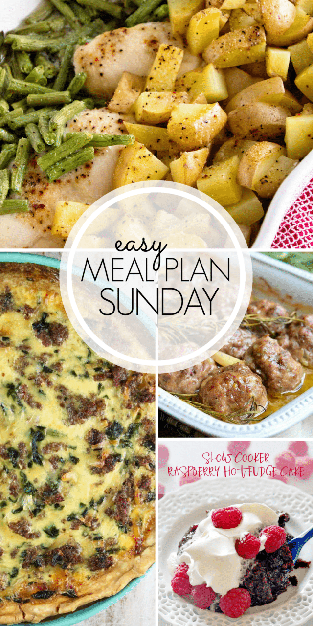 Get dinner on the table in no time with the Easy Meal Plan Week 102 ~ MissintheKitchen.com
