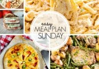 Easy Meal Plan Sunday {Week 103}
