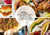 Easy Meal Plan Sunday {Week  105}