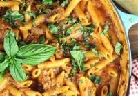 One Pot Sausage Penne Pasta