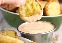 Fried Pickles Recipe ~ Delicious appetizer for any occasion from MissintheKitchen.com