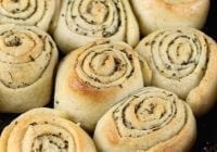 Quick Butter & Herb Rolls